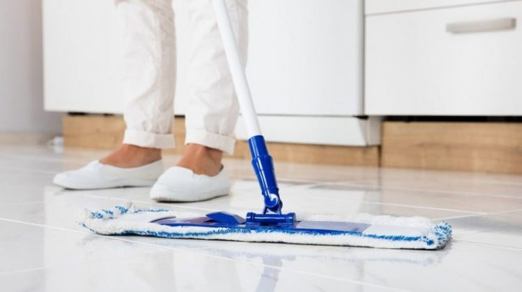 how to mop ceramic tile floors